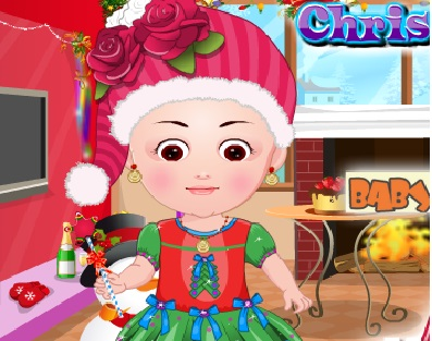 Baby Christmas Dress Up