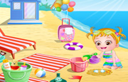 Baby Hazel Beach Puzzle