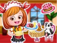 Baby Hazel Waitress Dressup